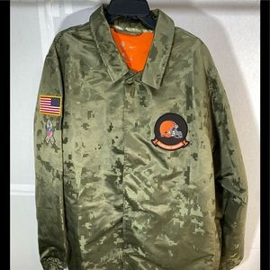 The Cleveland Browns Official Nike NFL Windbreaker